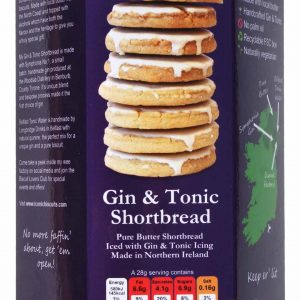 Gin and Tonic Shortbread