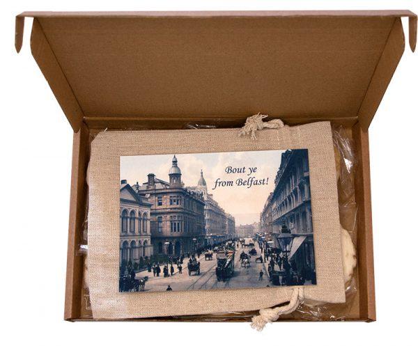 Belfast Beer Biscuits open box