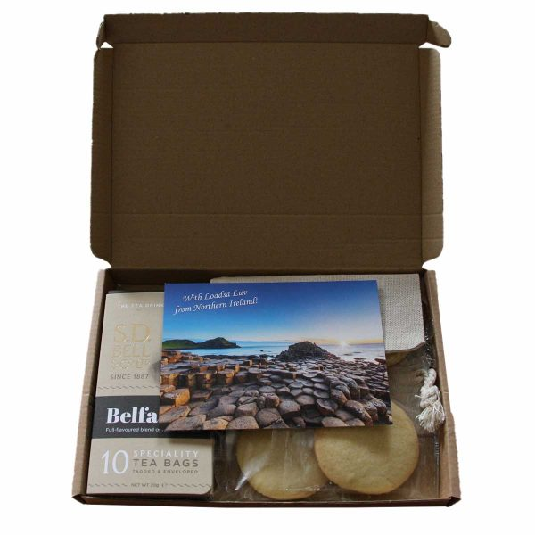 Tea and biscuits gift pack